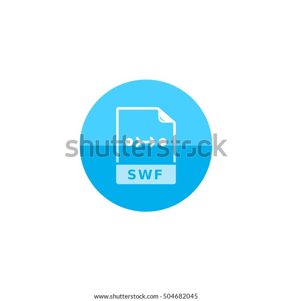 Image Animation File Format Icon Flat Stock Vector (Royalty Free