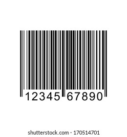 Image of a barcode isolated on a white background.