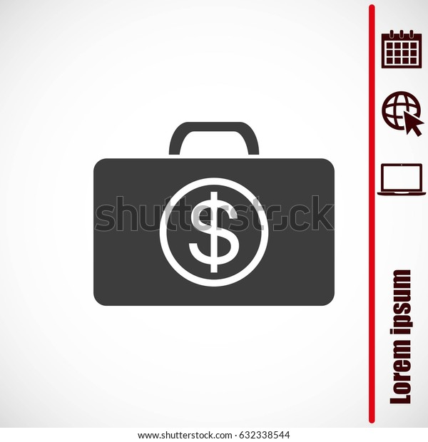Image of briefcase with dollar symbol