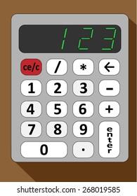 image calculator-style flat