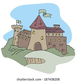 An image of a castle.