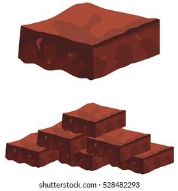 An image of Chocolate Fudge Brownies.