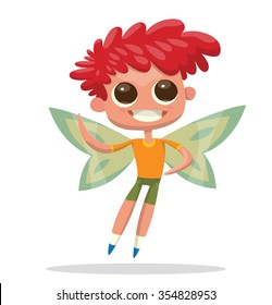 Male Fairy Cartoon Images Stock Photos Vectors Shutterstock