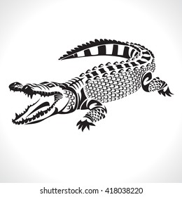 Drawing Crocodile Images Stock Photos Vectors Shutterstock