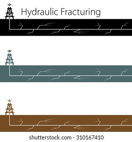 An image of a hydraulic fracking banner set.