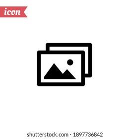 image icon. Vector illustration EPS 10.