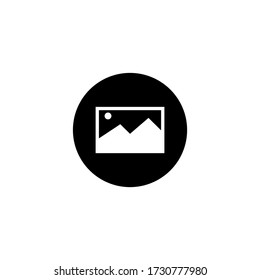 Image icon vector . Picture sign