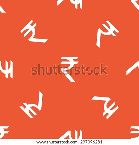 Image Indian Rupee Symbol Repeated On Stock Vector Royalty Free