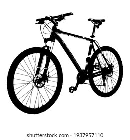 Image of a popular wheeled vehicle bike equipped with foot pedals, wheels, seat