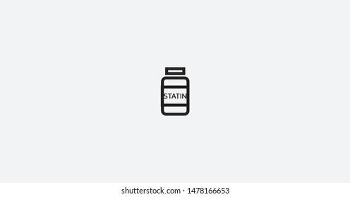 Image of Statin Illustration Vector