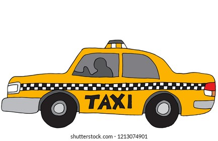 An image of a Taxi Car Vehicle.