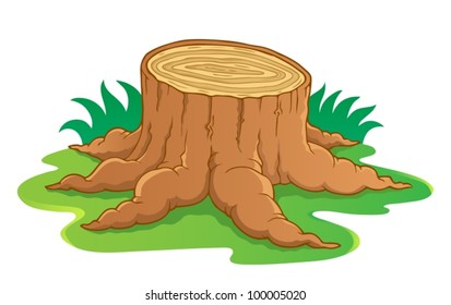 Cartoon Tree Cutting Images Stock Photos Vectors Shutterstock Using your minecraft knowledge, you decide to start punching down a tree to get wood. https www shutterstock com image vector image tree root theme 1 vector 100005020