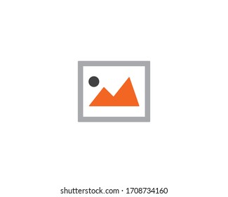 Image vector icon symbol design illustration