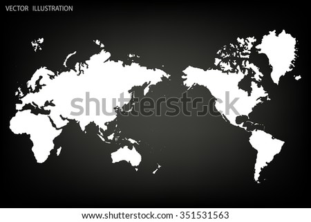 Photos World Map.Image Vector World Map Stock Vector Royalty Free 351531563