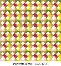 image,color tile - Geometric seamless pattern