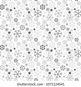 image,gray scale tile - Geometric seamless pattern