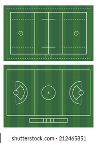 images of lacrosse field for men and women. No transparency used.