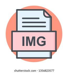 IMG File Document Icon