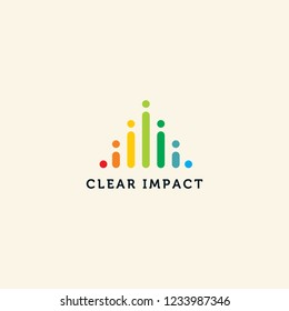 Impact technology logo design inspiration