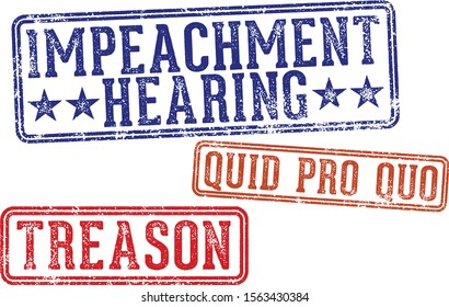 Impeachment Hearing and Quid Pro Quo Rubber Stamps