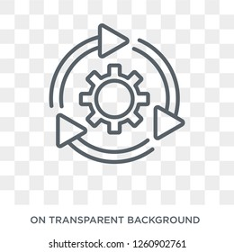 implementation icon. Trendy flat vector implementation icon on transparent background from general  collection. High quality filled implementation symbol use for web and mobile