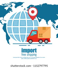import free shipping set icons