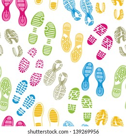 imprint soles shoes pattern