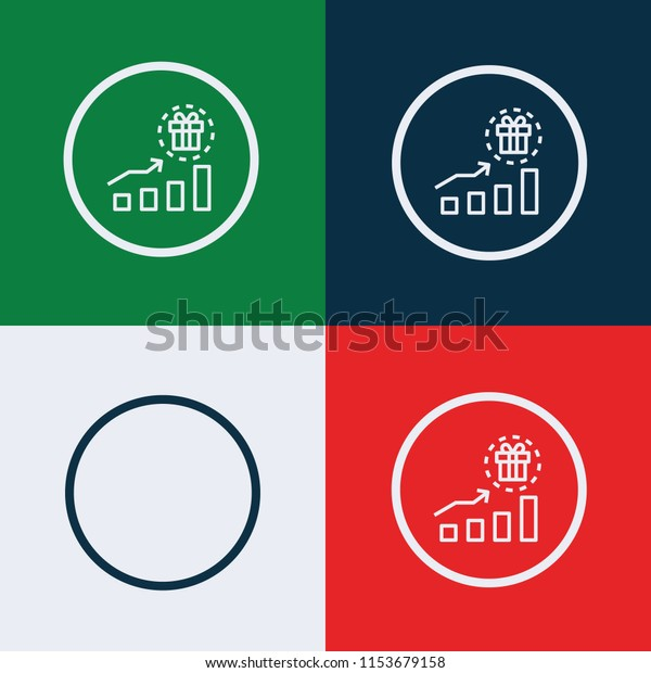 Incentive icon vector