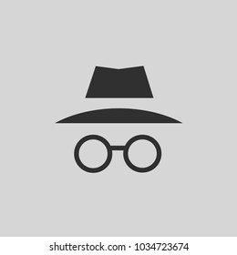 Incognito Icon Vector Illustration.
