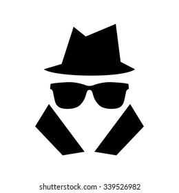 Incognito icon . Vector illustration
