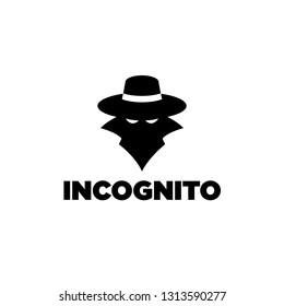 Incognito Spy Silhouette Logo