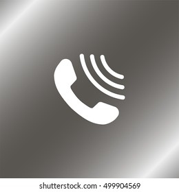 Incoming call icon.