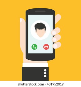 Incoming Call Images, Stock Photos & Vectors | Shutterstock