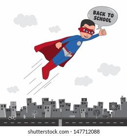 incredible superhero back to school caption