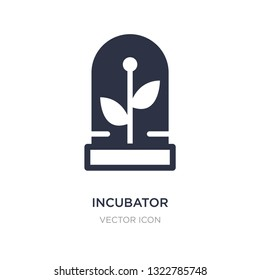 incubator icon on white background. Simple element illustration from Future technology concept. incubator sign icon symbol design.