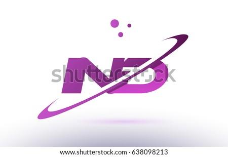 Ind N D Alphabet Letter Logo Stock Vector (Royalty Free) 638098213 ...