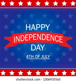 Independence day. 4 th July. Happy independence day background.