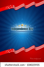 Independence day background. vector illustration