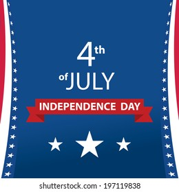 Independence day, card