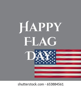 Independence Day Happy flag day vector background. Happy flag day badge.