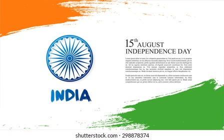 independence day. india. 15th of august.