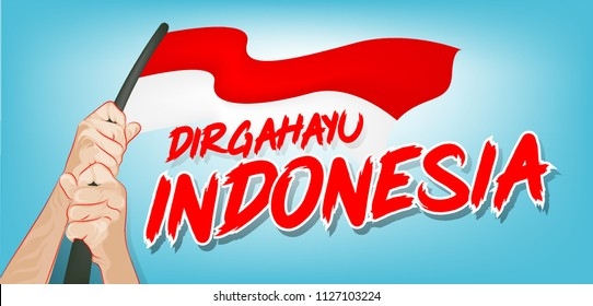 Independence Day Indonesia. EPS10