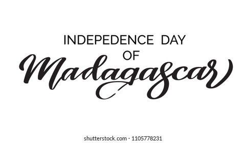 Madagascar Lettering Images Stock Photos Vectors Shutterstock