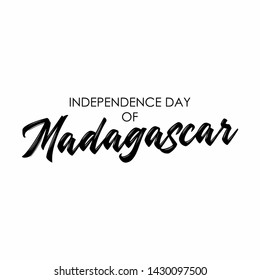 Madagascar Lettering Images, Stock Photos & Vectors