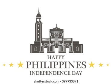 Independence Day. Philippines. EPS 10. Vector illustration