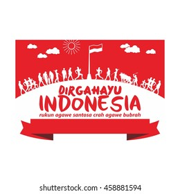 independent day of indonesia
