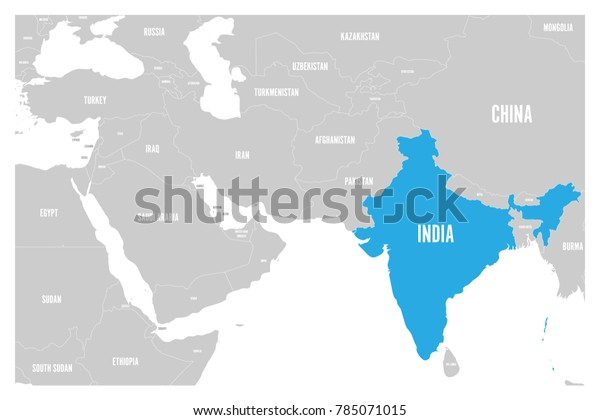 India Blue Marked Political Map South Stock Image | Download Now on basel map, wald map, verbier map, hanover map, swiss alps map, strasbourg map, dissolution soviet union map, lugano map, gstaad map, zermatt map, stockholm sweden map,