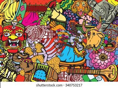 India Collage
