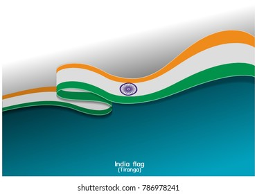 india flag vector background eps 10