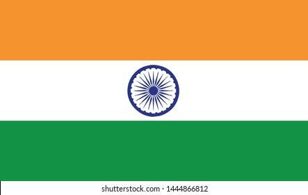 India flag vector icon -Vector